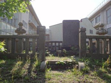 戸田氏の墓【英巌寺跡にある戸田...